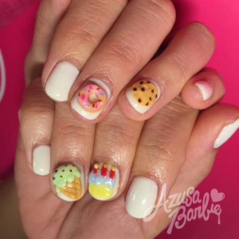 3D Sweets Nails