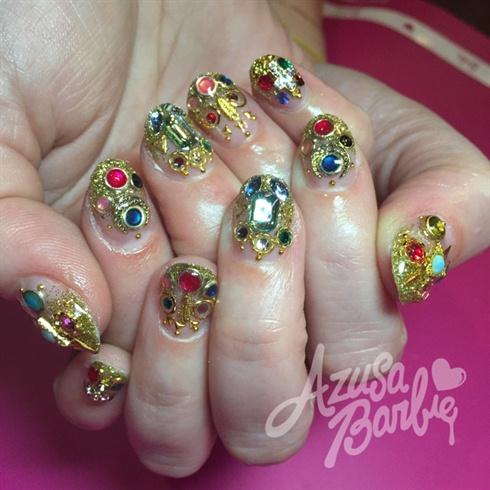 Fancy Jewel Nails