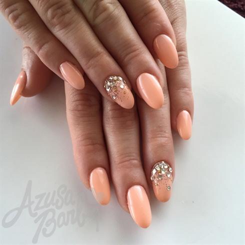 Peach Color Gel