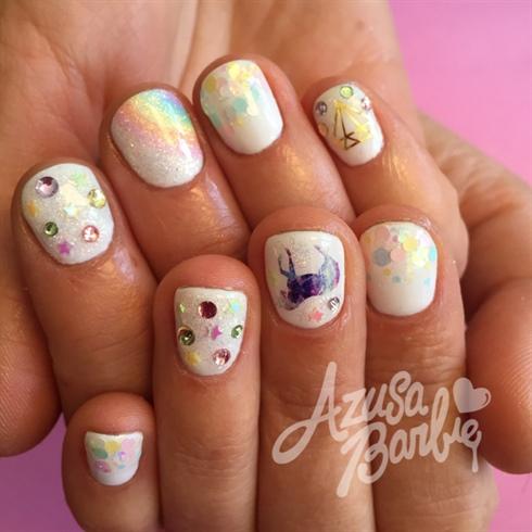 Unicorn nail