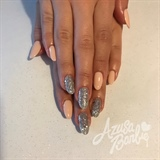 Silver Glitter Gel