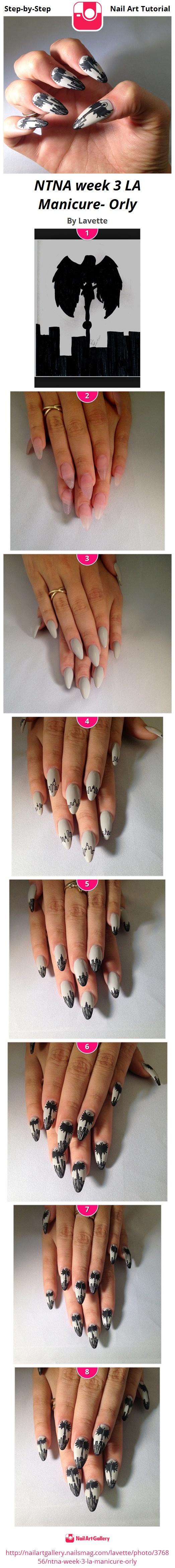 NTNA week 3 LA Manicure- Orly - Nail Art Gallery