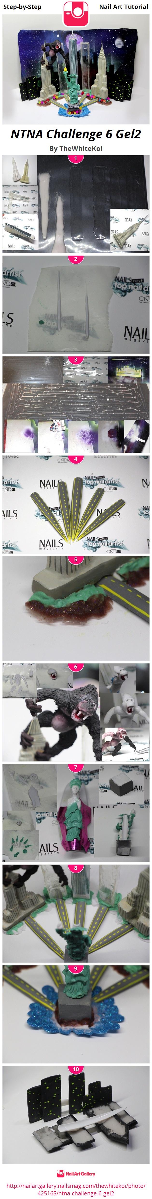 NTNA Challenge 6 Gel2 - Nail Art Gallery