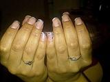 pink, black, white