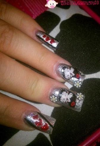 Betty Boop w/o stones