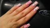 pink candy stripe