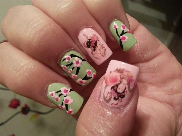 Geisha♥cherry blossom