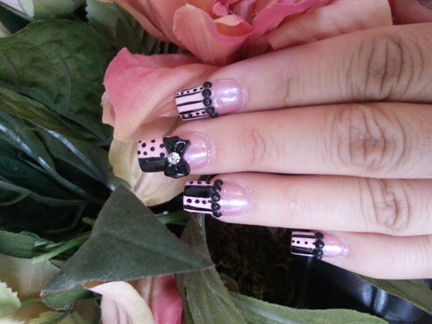 Pink ♡♡Black joy