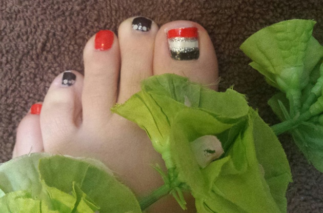 toe nails ❤❤