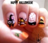 halloween nail design 2