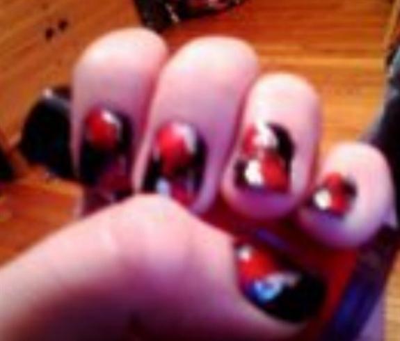 twilight eclipse nails