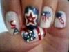 memorial day nail design