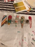Winter Christmas Nails