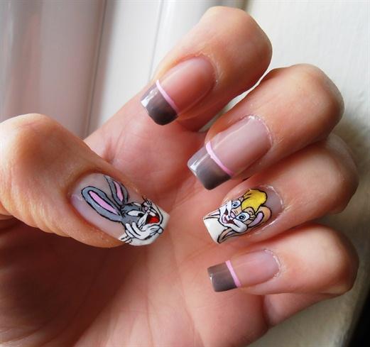 Bugs Bunny - Bugs Bunny - Nail Art Gallery