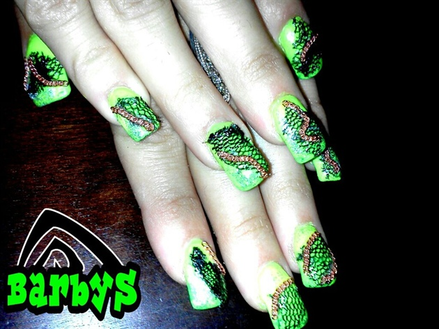 haoloween nails