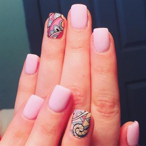 Soft Matte pink