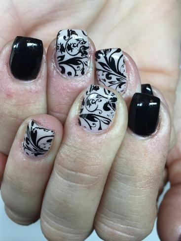 Black Stamped