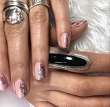 Nude Foil Nails