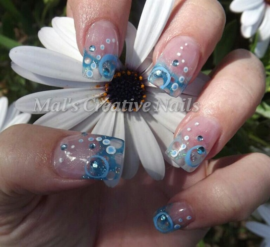 Bubble Nail Art: Nail Art Gallery