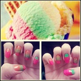 Sherbert Nails