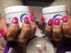 Nexgen Nails With Pink & Glitter