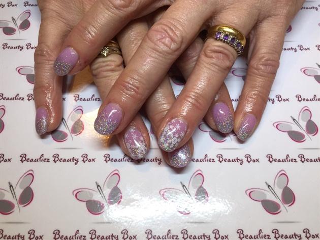 Nexgen Nails With Glitter