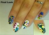 Kandinsky-Inspired Nails