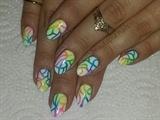 Rainbow Ombre Lines
