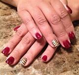 Gold, Wine & Stripes