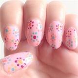 Beginner summer nail art