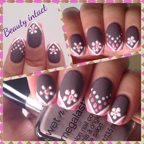 Short nails nailart