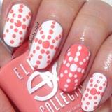 Easy valentine's nails