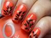 Leafy spring nails