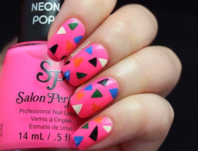 Colored Triangle