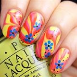 Watemarble Nails