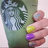 Nail Art & Starbucks Obsession