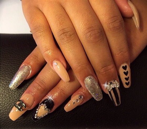 Nude, Black & Bling, Oh My!!