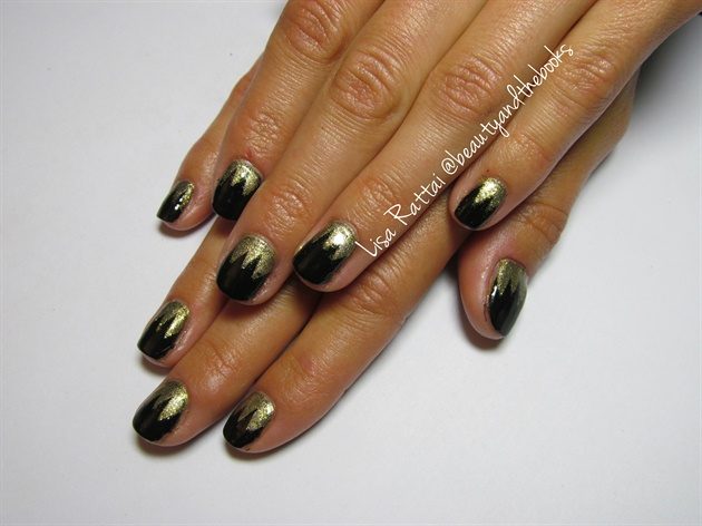 Gatsby Inspired Nails