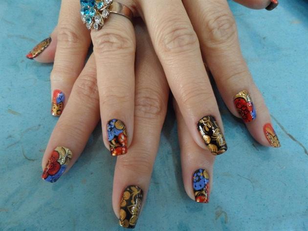 Japanese inspired nail art nail art gallery japanese inspired nail art prinsesfo Choice Image