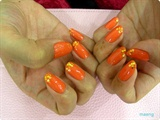 Orange Films Glitter