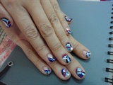 Emilio Pucci Inspired Nail Arts