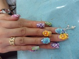 3D Colorful Florals