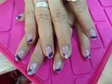 Purple-ish with Ribbon