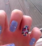 Rhinestones and Blue