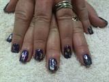 Purple with Rainbow foil