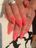Orange And Pink Pop!
