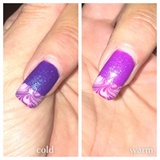 Water Marble French Tip