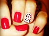 red and polka dot
