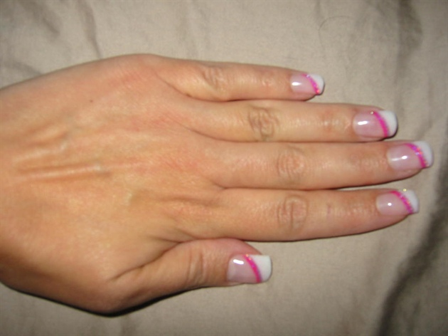 White & Pink Simplicity