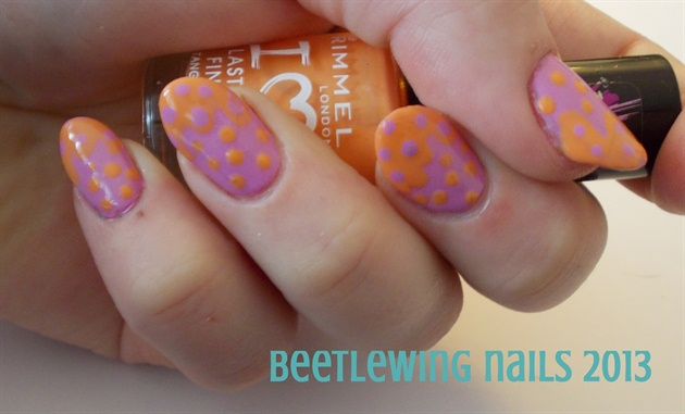 Cheeto's Nails!
